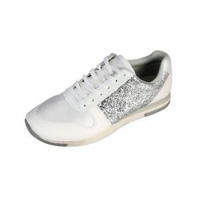 SPROX Damen Schnürer Glitter, weiß/silber