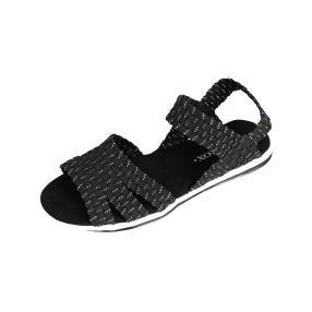 SPROX Comfort Damen-Sandalen, schwarz