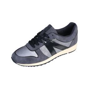 SPROX Damen Sneakers metallic, blau