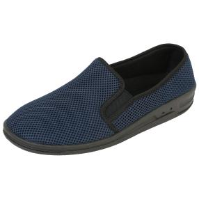 Comando by PANTO FINO Herren Slipper, navy