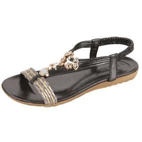 Claudia Ghizzani Damen-Sandale Stones