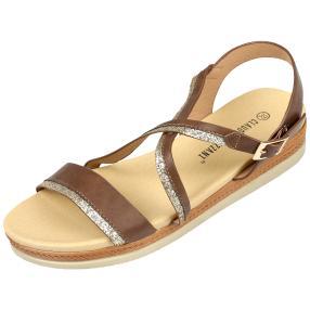 Claudia Ghizzani Damen-Sandale Glitter
