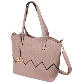 Emma&Kelly Tasche, 2-teiliges Set, nude