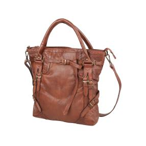 PUNCHBALL Tasche vintage washed maroon