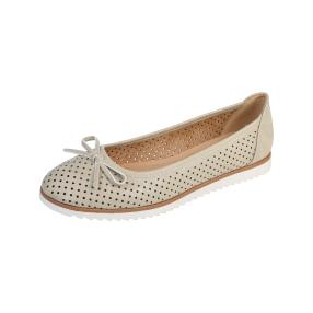IDENTITY Damen Slipper light gold, beige
