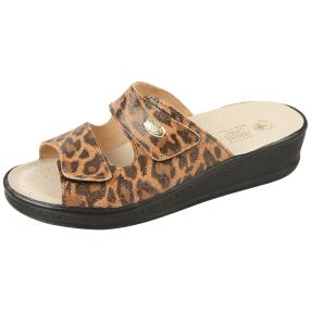 SANITAL LIGHT Damen-Leder-Pantolette Leo