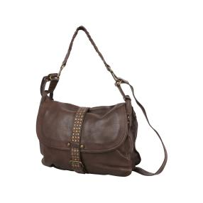 PUNCHBALL Tasche vintage washed, coffee