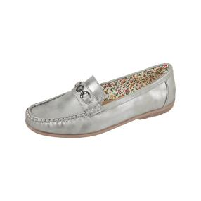 IDENTITY Damen-Slipper pewter