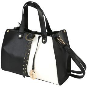 Emma&Kelly Tasche schwarz/weiß