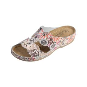 Dr. Feet Damen-Leder-Pantolette