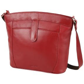 AiRFiELD Vollnappa Tasche berry
