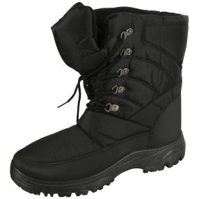 NORWAY ORIGINALS Herren-Winter-Boots, schwarz