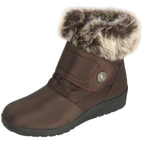 NORWAY ORIGINALS Damen-Klett-Stiefeletten, braun