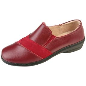 TOPWAY Comfort Damen-Slipper, burgundy