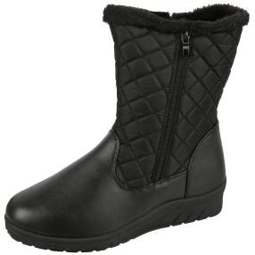 NORWAY ORIGINALS Damen-Stiefeletten, schwarz