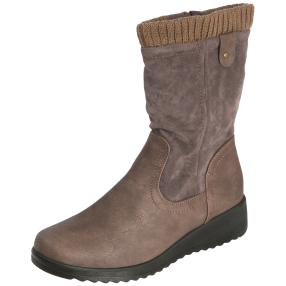NORWAY ORIGINALS Damen-Stiefeletten, taupe