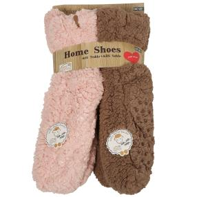 Antonio Homeshoes 2er Set Teddy-Pelz