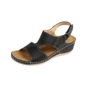 TOPWAY Damen-Sandalen, schwarz