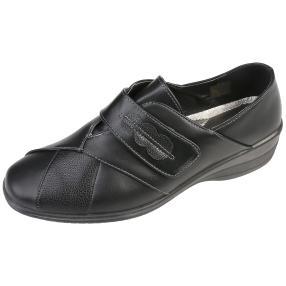 IDENTITY Damen-Slipper, schwarz