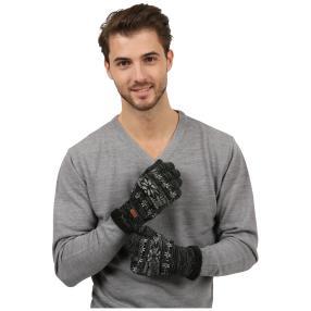Antonio Herren-Handschuhe Teddy, schwarz