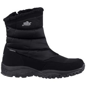 Lico Damen-COMFORTEX-Boots Bea, schwarz