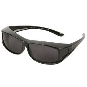 Übersonnenbrille Unisex, schwarz