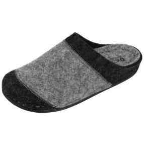Dr. Feet Damen-Hausschuhe, anthrazit