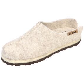 Dr. Feet Hausschuhe, beige