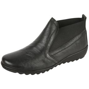 Dr. Feet Nappaleder Stiefelette, schwarz