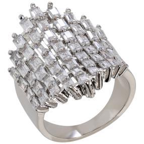 ELISABETH NAEEM Ring, Kupfer silberfarben