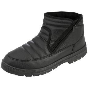 PANTO FINO Herren-Boots, schwarz