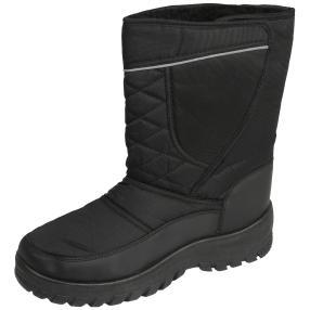SNOWFUN Herren Klett-Boots, schwarz