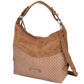 MARC CHANTAL Damen Handtasche Supersoft, cognac