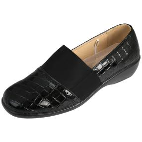 TOPWAY Damen-Slipper, schwarz