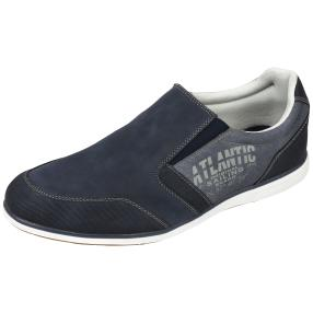 SPROX Herren-Elastik-Slipper Atlantic, navy