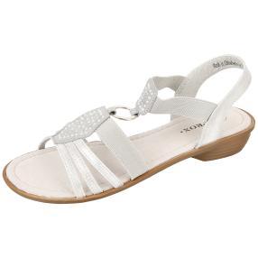 SPROX Damen Sandaletten Soft Touch, silber
