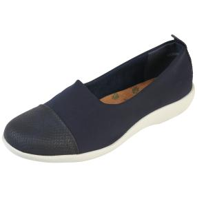aloeloe Damen-Slipper, navy