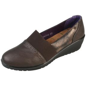 aloeloe Damen-Slipper, braun