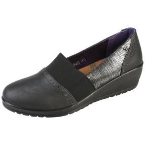 aloeloe Damen-Slipper, schwarz