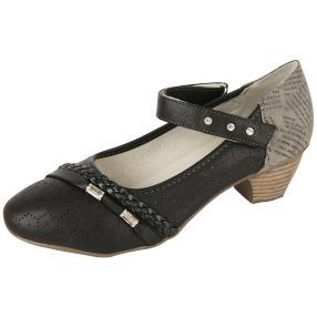 Step&Go Damen-Klettpumps, schwarz