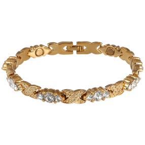 Balance Magnet-Armband, goldfarben