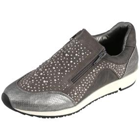Fitters Footwear Damen-Sneaker Megan, pewter