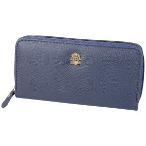 Longbörse mit RFID-Schutz Classic, blau