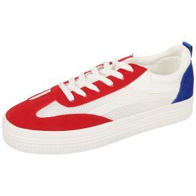 Damen Sneakers maritim, weiß