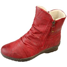 SUPER IN Damen Stiefeletten, rot