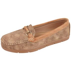 TOPWAY COMFORT Damen Slipper, bronze