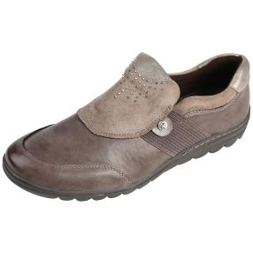 Relife® Damen Slipper, taupe