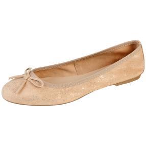 TAMARIS Damen-Leder-Ballerina, rose
