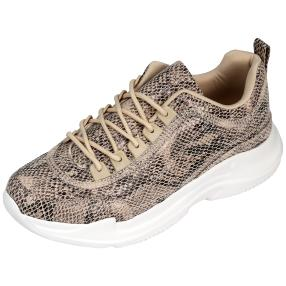Lightweight Claudia Ghizzani Damen-Sneaker, beige