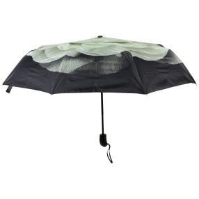 Regenschirm Rose, schwarz